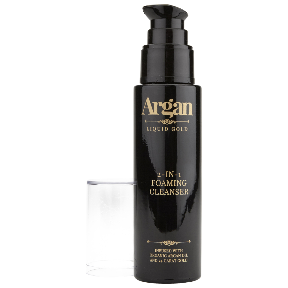 Argan Liquid Gold 2-in-1 Foaming Cleanser 50ml