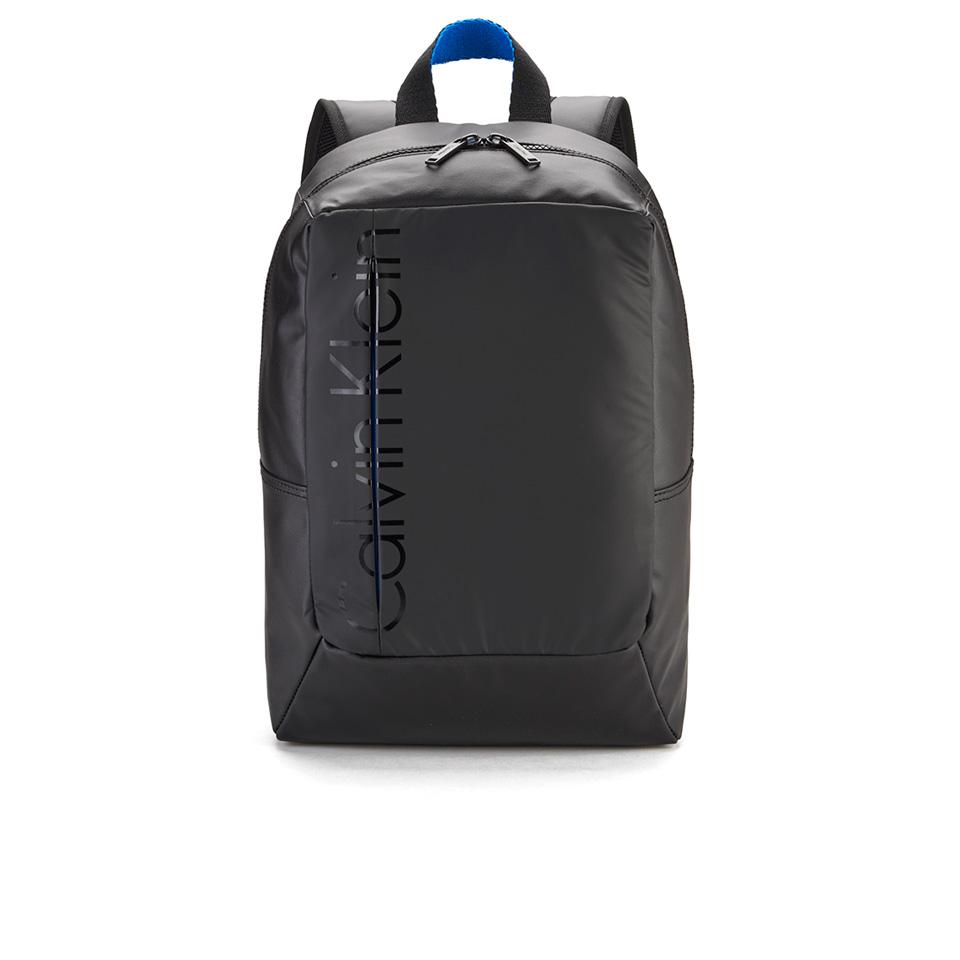 f4d458b0cde Calvin Klein Men's Logan Canvas Backpack - Black Clothing | TheHut.com