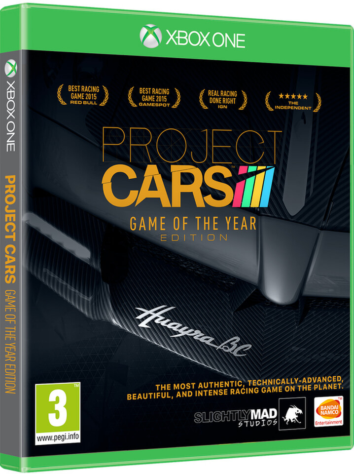 Project Cars - édition jeu de l