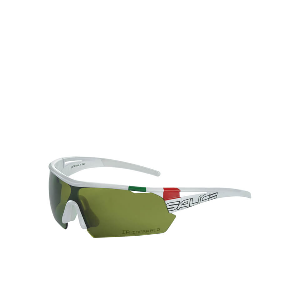 Salice 006 ITA Sports Sunglasses - White/Infrared