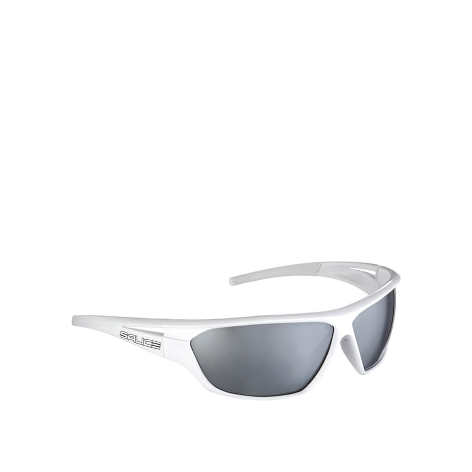Salice 002 Casual Sunglasses - White/Black