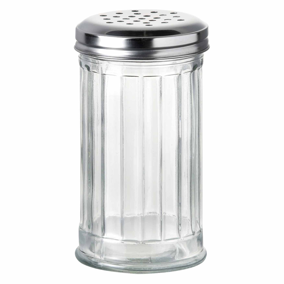 Parlane Glass Shaker - Clear (13.5cm)