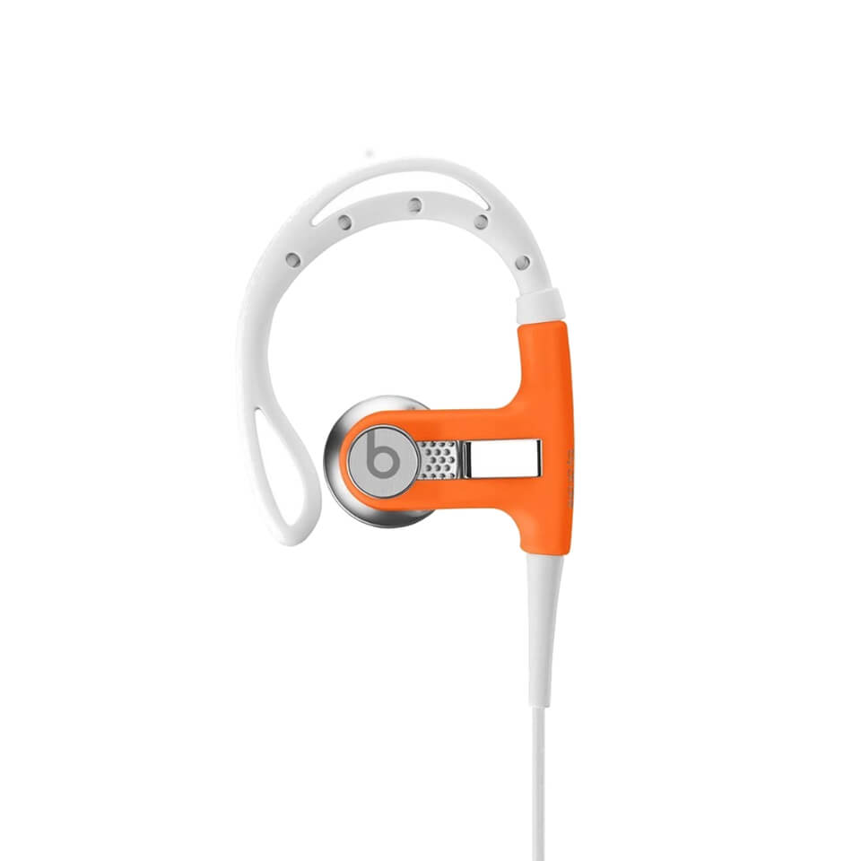 Beats by Dr. Dre Powerbeats In-Ear Earphones - Neon Orange - Refurbished