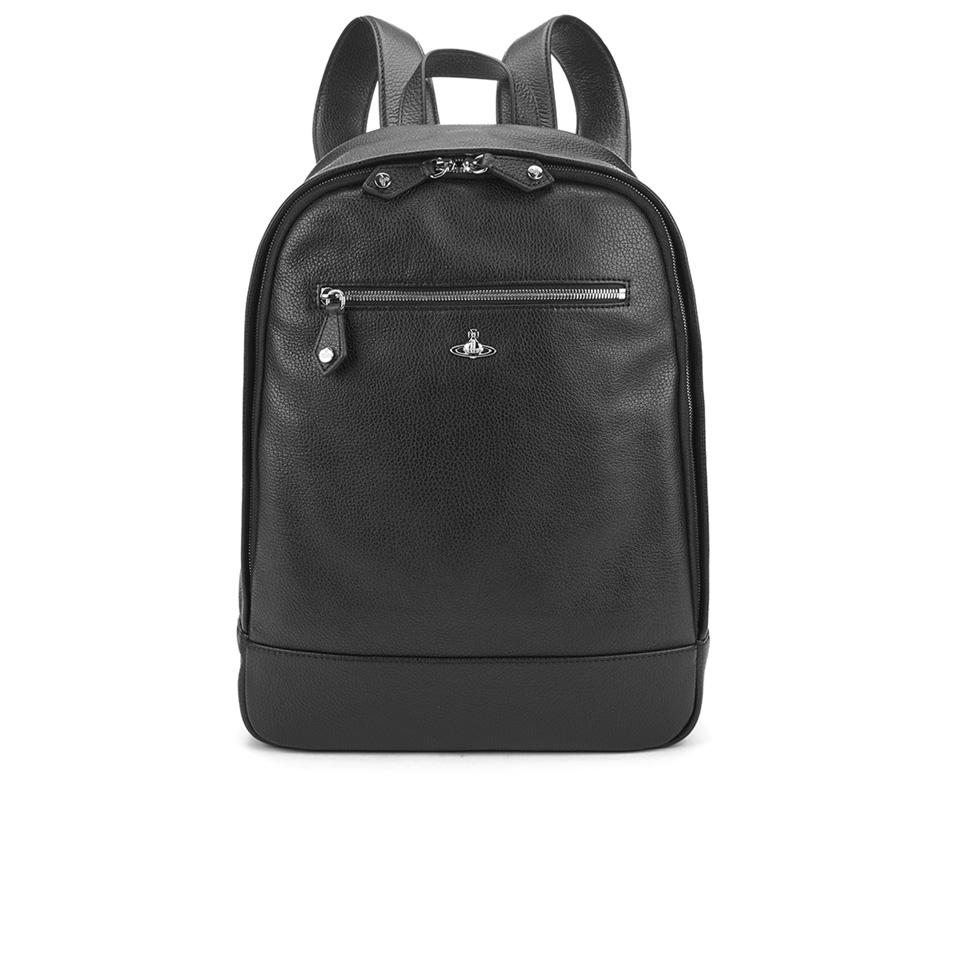 ea48d80b4c Vivienne Westwood Men s Milano Backpack - Black - Free UK Delivery ...