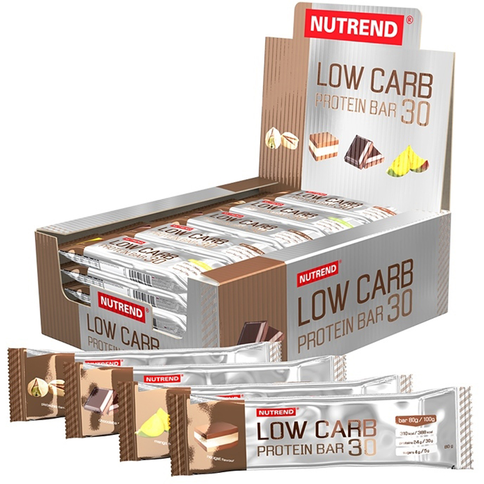 Nutrend Low Carb Protein Bar 30 1x80g Bar