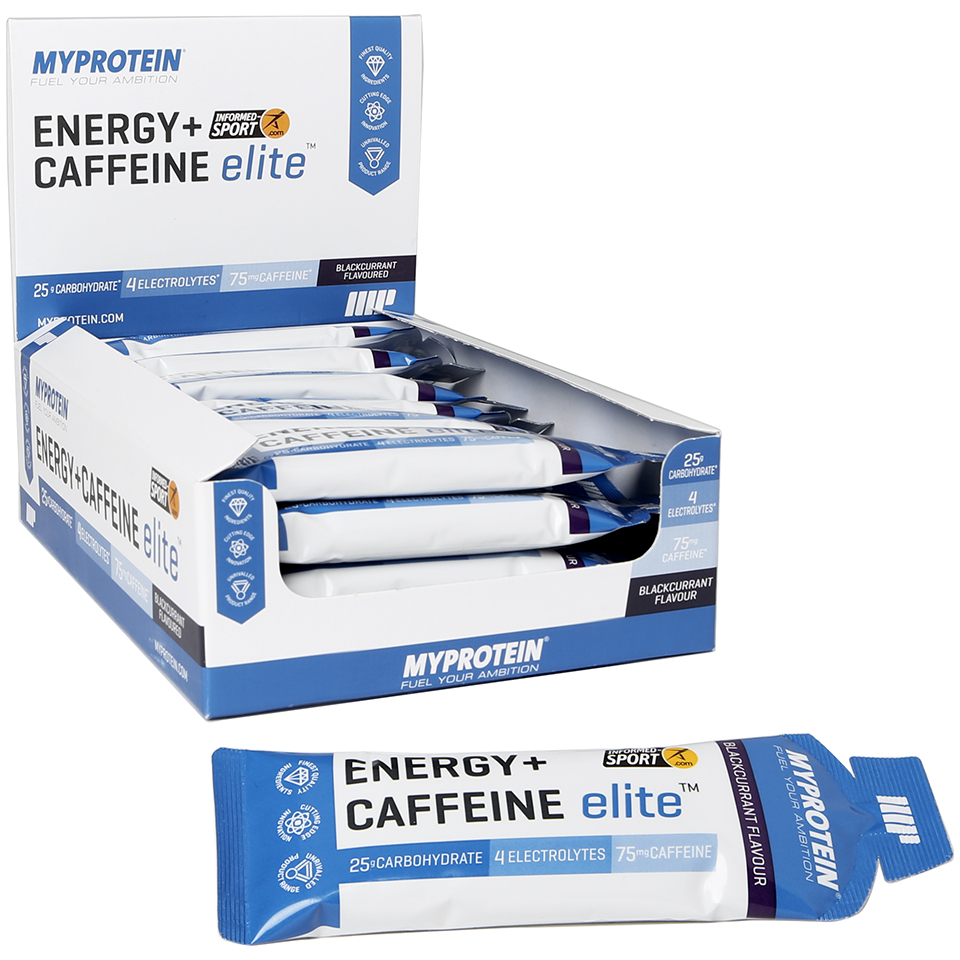 Myprotein Energy Elite + Caffeine, Blackcurrant, 20 x 50g