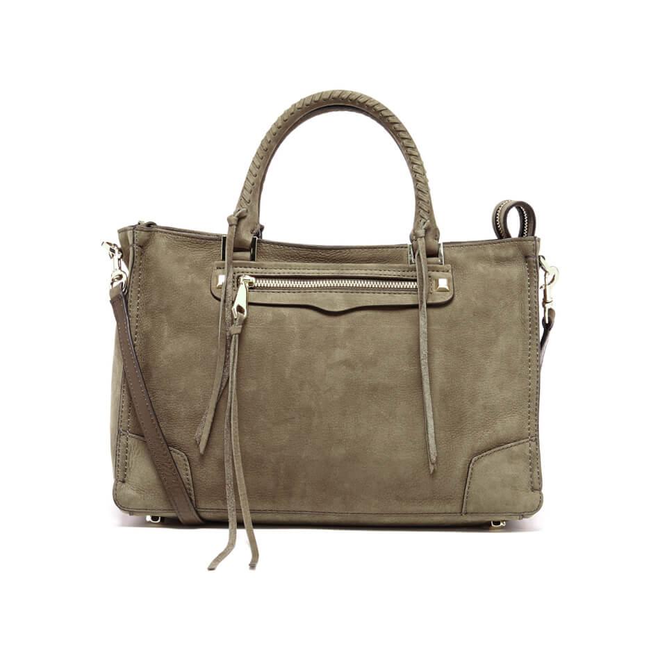 1937bd616bdb Rebecca Minkoff Women s Regan Satchel Tote Bag - Olive