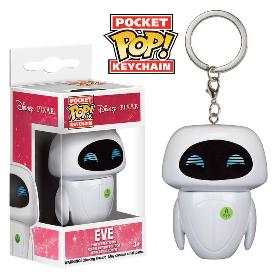Porte-Clés Pocket Pop! Eve -WALL-E