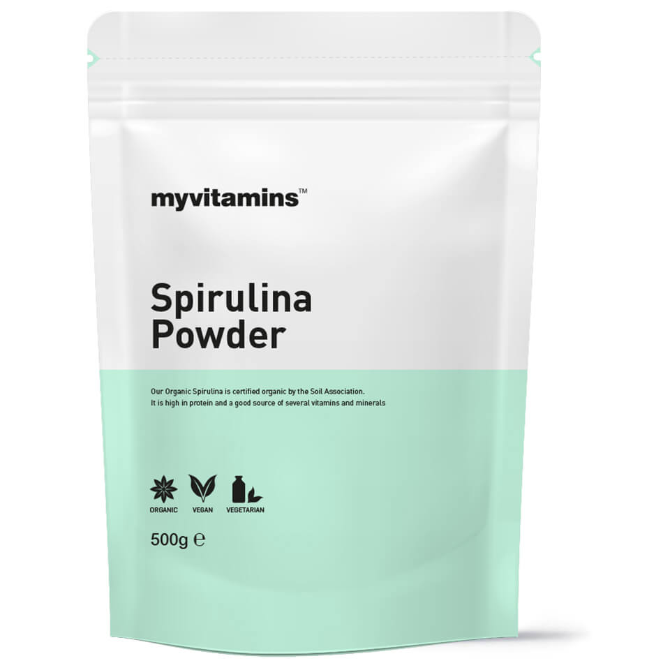 Buy Organic Spirulina Powder Myvitamins