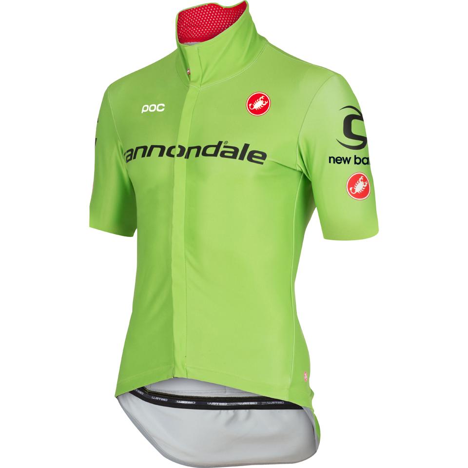 32ec43f88 Castelli Cannondale Pro Cycling Team Gabba 2 Jersey - Green ...
