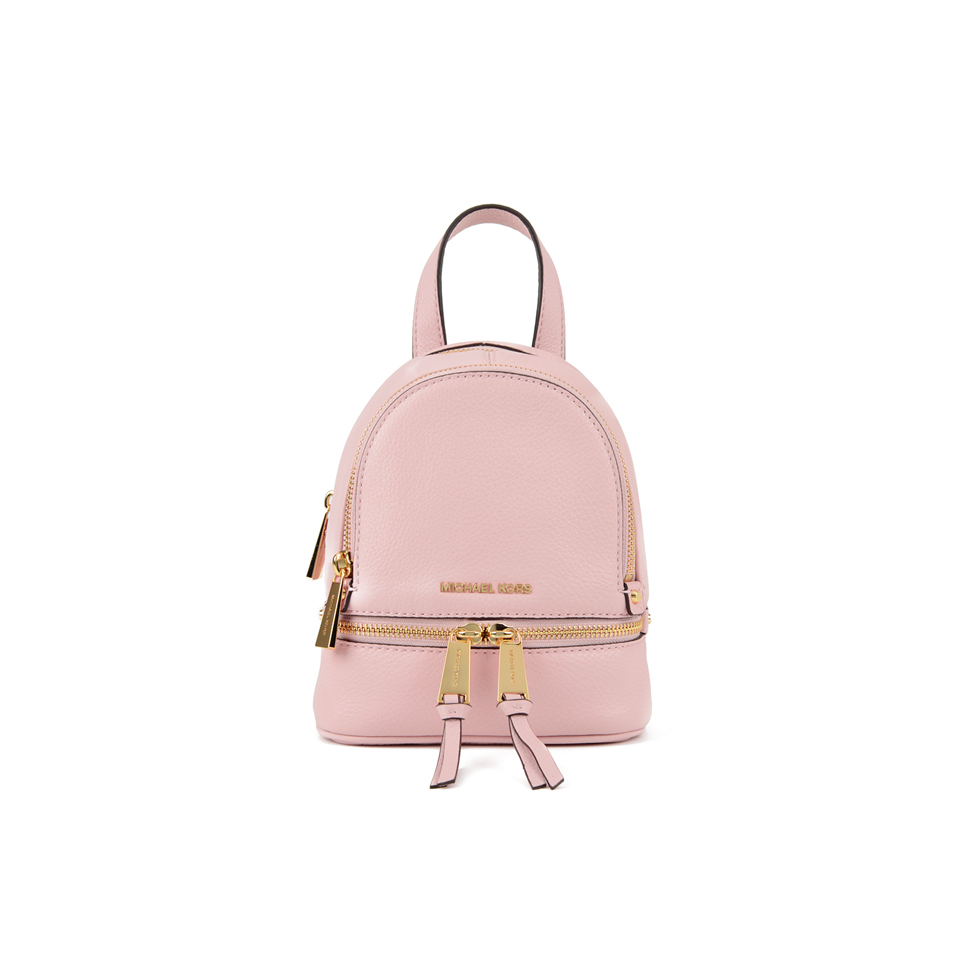05d1fc535aee MICHAEL MICHAEL KORS Rhea Zip Small Crossbody Backpack - Pink - Free ...