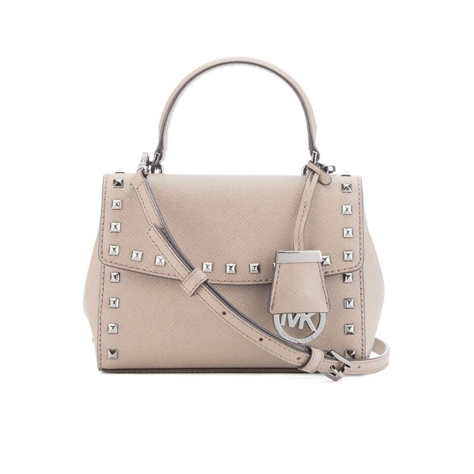 851a56cef63c MICHAEL MICHAEL KORS Ava Stud Mini Crossbody Bag - Grey - Free UK ...