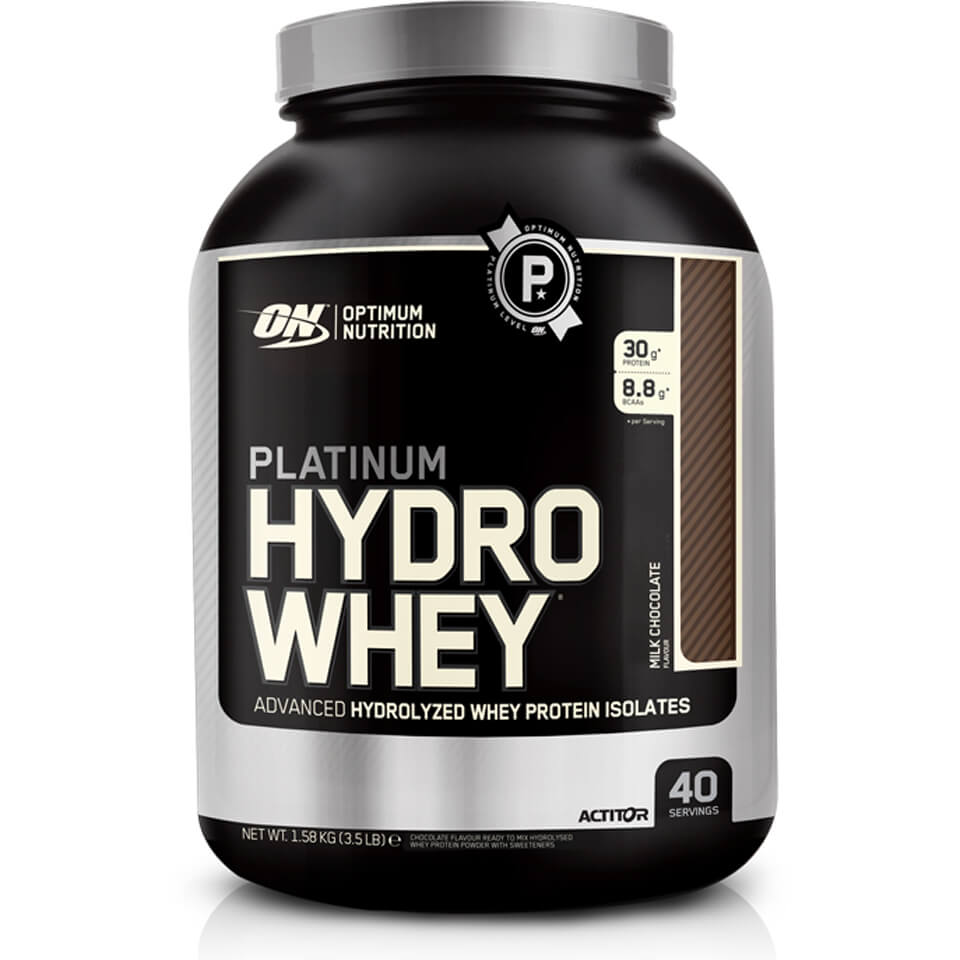 Optimum Nutrition Platinum Hydro Whey Protein - Turbo Chocolate, 1580g