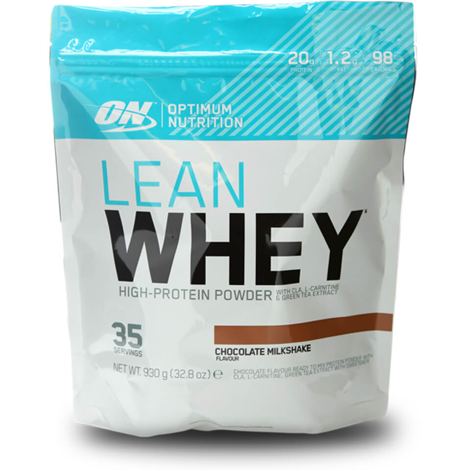 Optimum Nutrition Lean Whey Protein - Strawberry, 930g