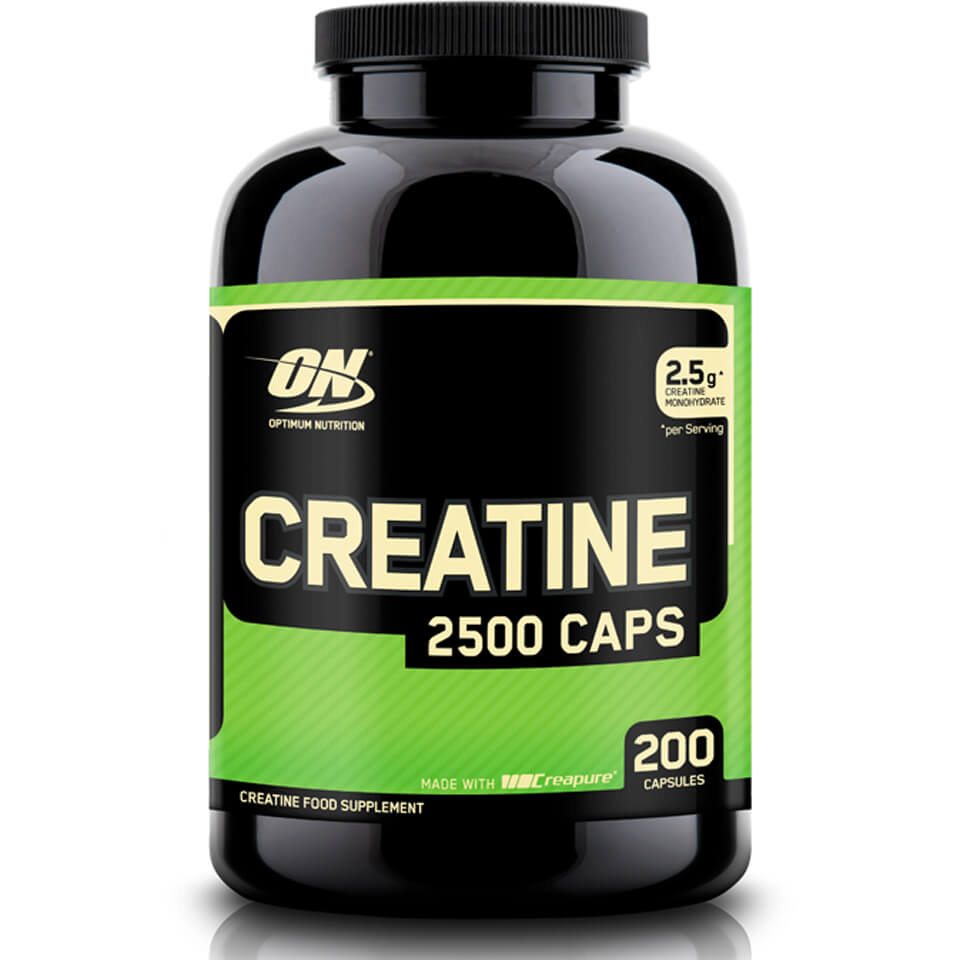 Optimum Nutrition Creatine 2500 - 200 Capsules