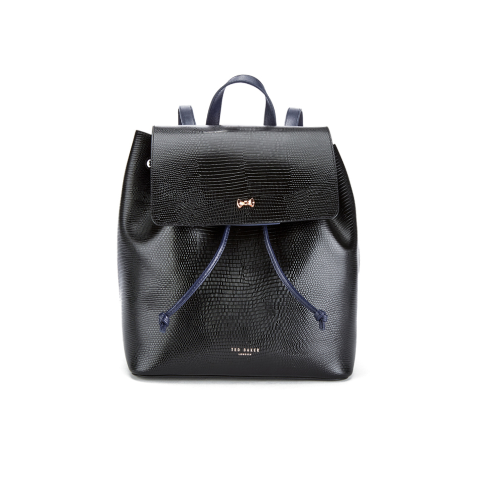 Ted Baker Women S Inara Metal Bow Exotic Detail Backpack
