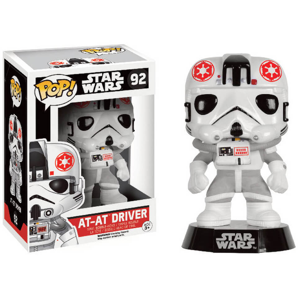 Star Wars (Exc) AT-AT Driver Pop! Vinyl Figure
