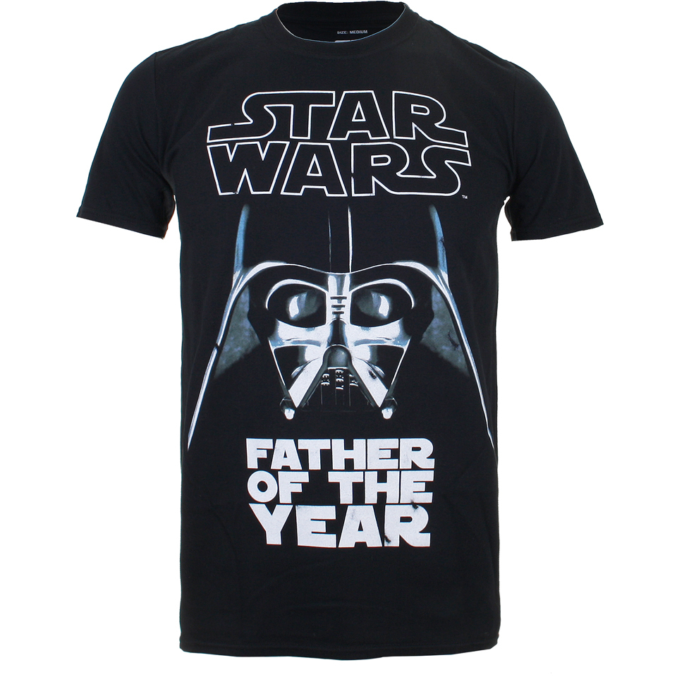 e5b615dc Star Wars Men's Father of the Year T-Shirt - Black Merchandise | Zavvi