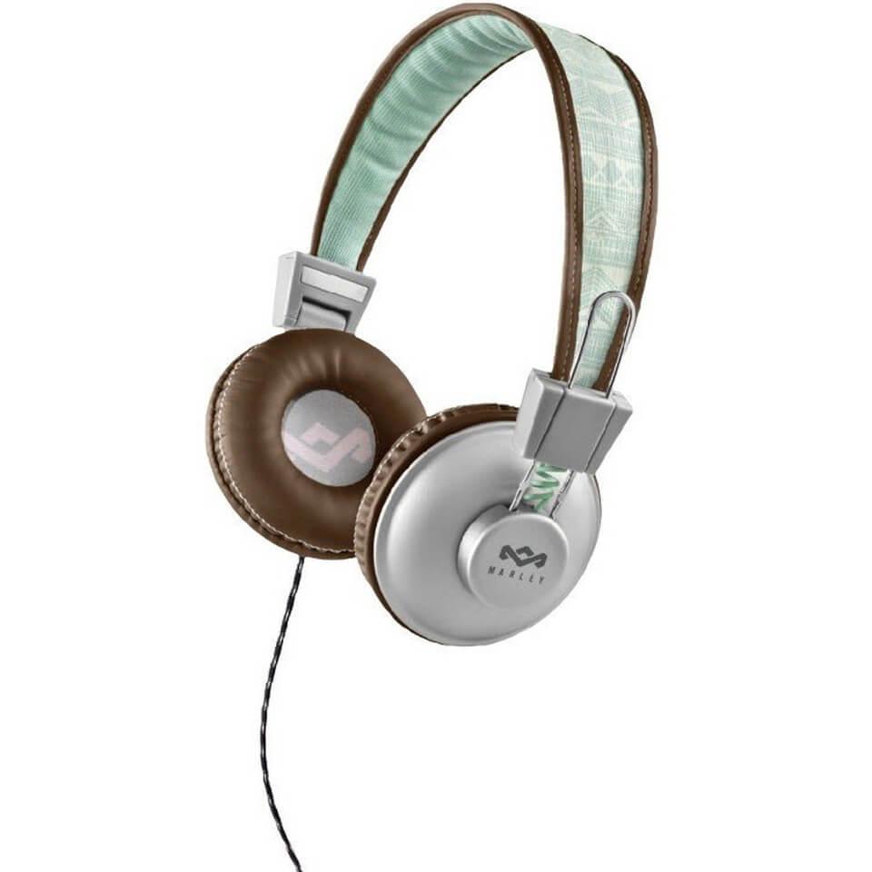 The House of Marley Positive Vibration Headphones - Aqua Electronics ... dcf14081e5d09