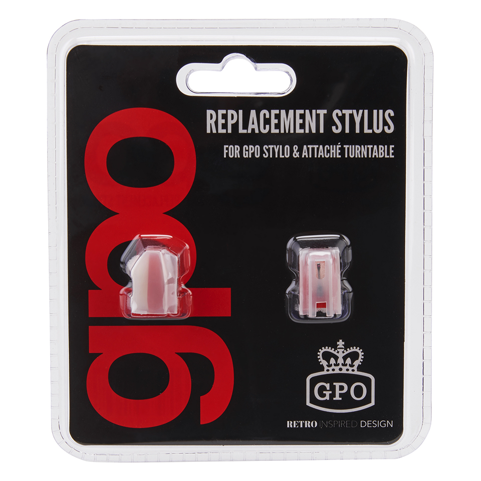 GPO Retro Stylo Attache Needle Blister Pack