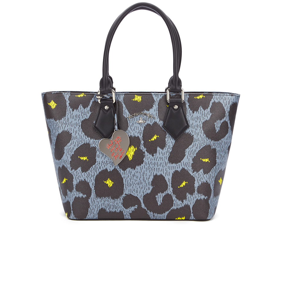 bd23df1069 Vivienne Westwood Leopardmania Women's Shopper Bag - Grey - Free UK ...
