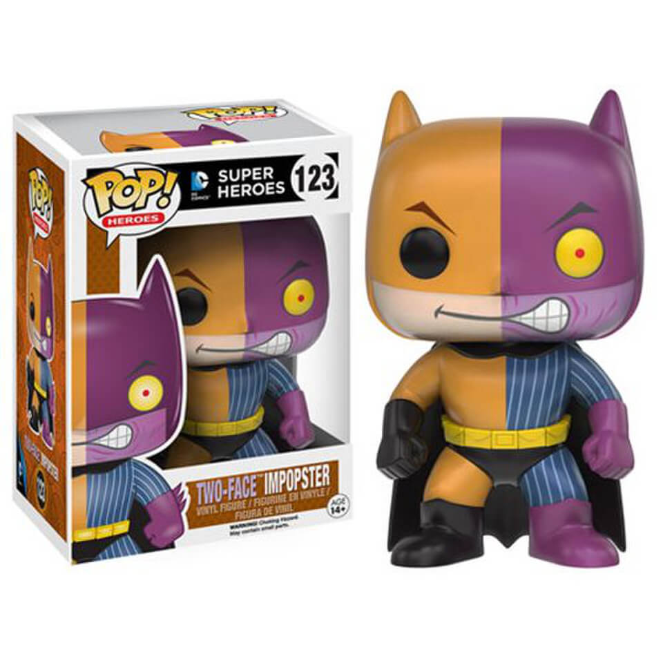 Batman Impopster Two-Face Pop! Vinyl Figure