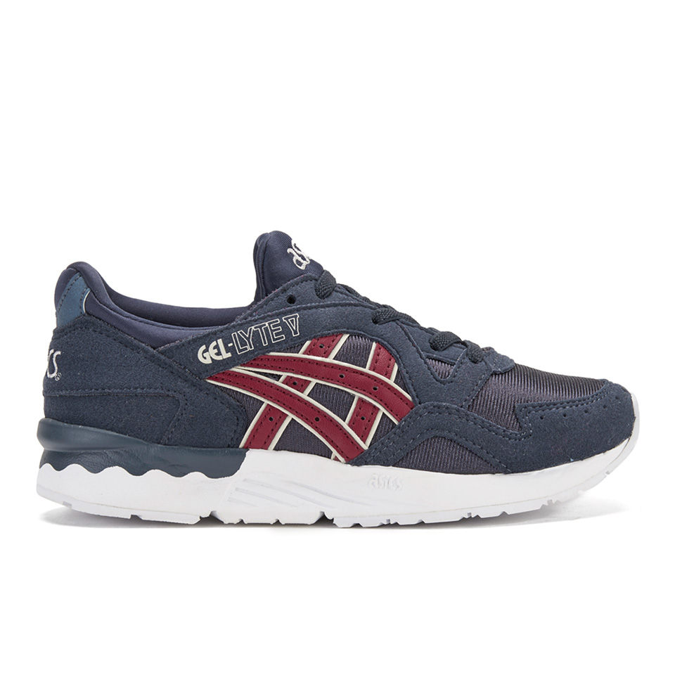 bfd1751e46d Asics Kids' Gel-Lyte V PS Trainers - Indian Ink/Burgundy Junior Clothing |  TheHut.com
