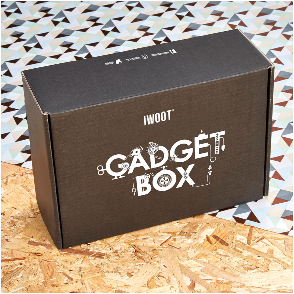 Gifts for him unusual gift ideas for men iwoot iwoot mystery gadget box worth over 50 negle Images