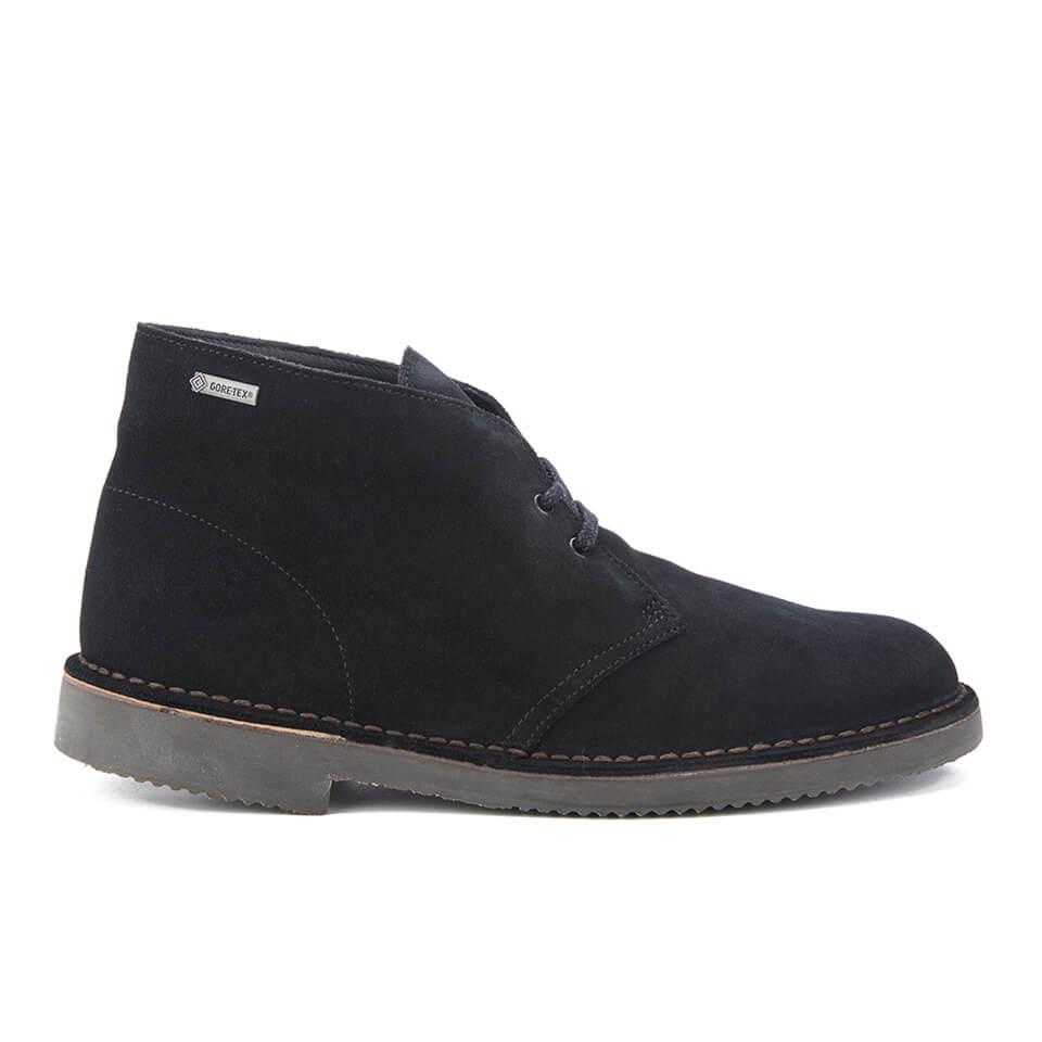 97d415080a20 Clarks Originals Men s GORE-TEX Desert Boots - Black Suede Mens ...