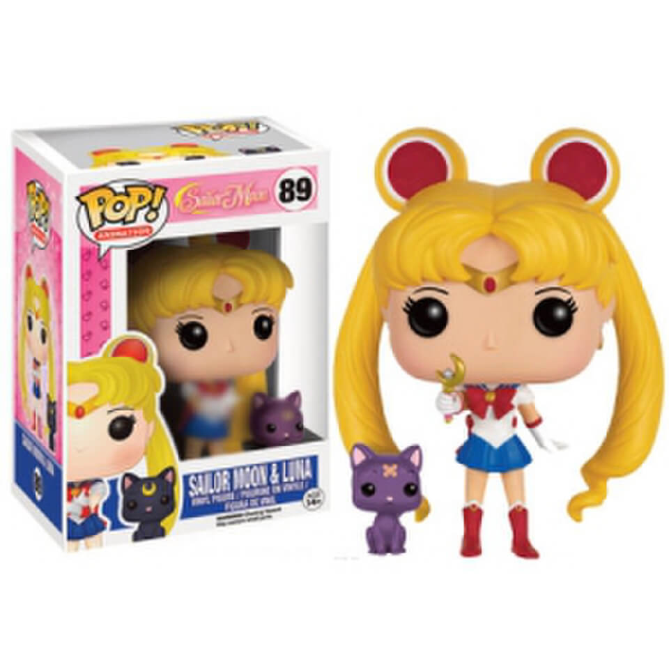 Sailor Moon Luna w/Moon Stick Ltd Ed Pop! Vinyl Figure