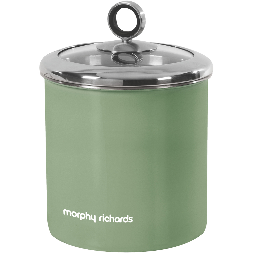 Morphy Richards Store: Morphy Richards 974081 Large Storage Canister - Sage Green