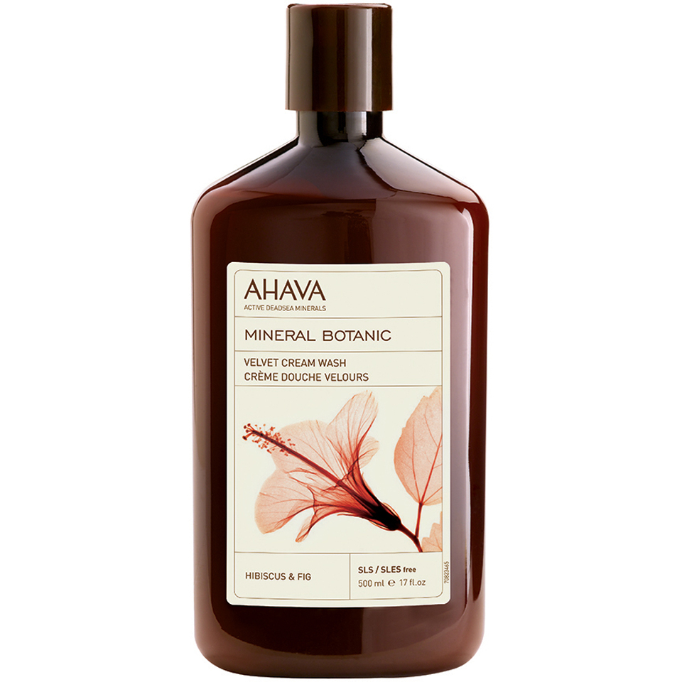 AHAVA Mineral Botanic Velvet Cream Wash - Hibiscus and Fig