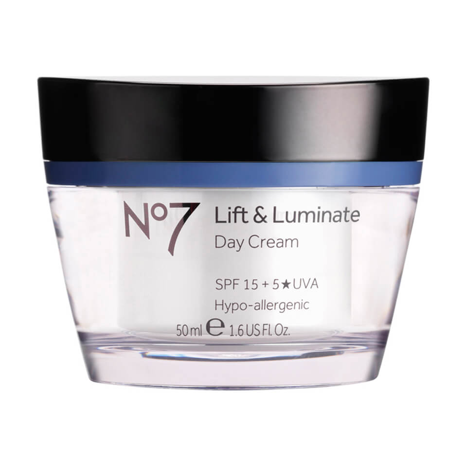 boots no 7 lift and luminate day cream spf 15