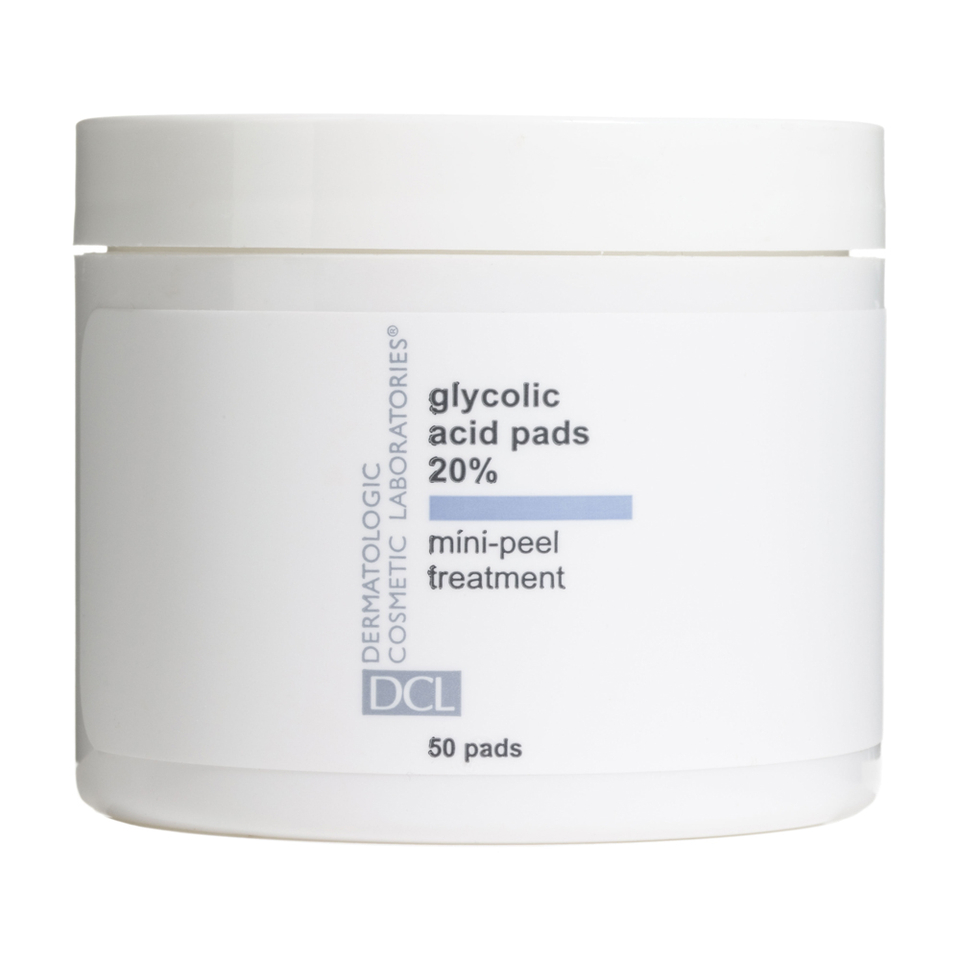 Dcl Glycolic Acid Pads 20 Percent Skinstore