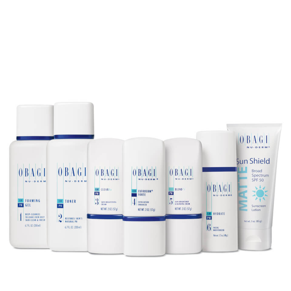 Obagi Nu Derm Fx System Normal To Oily Skinstore