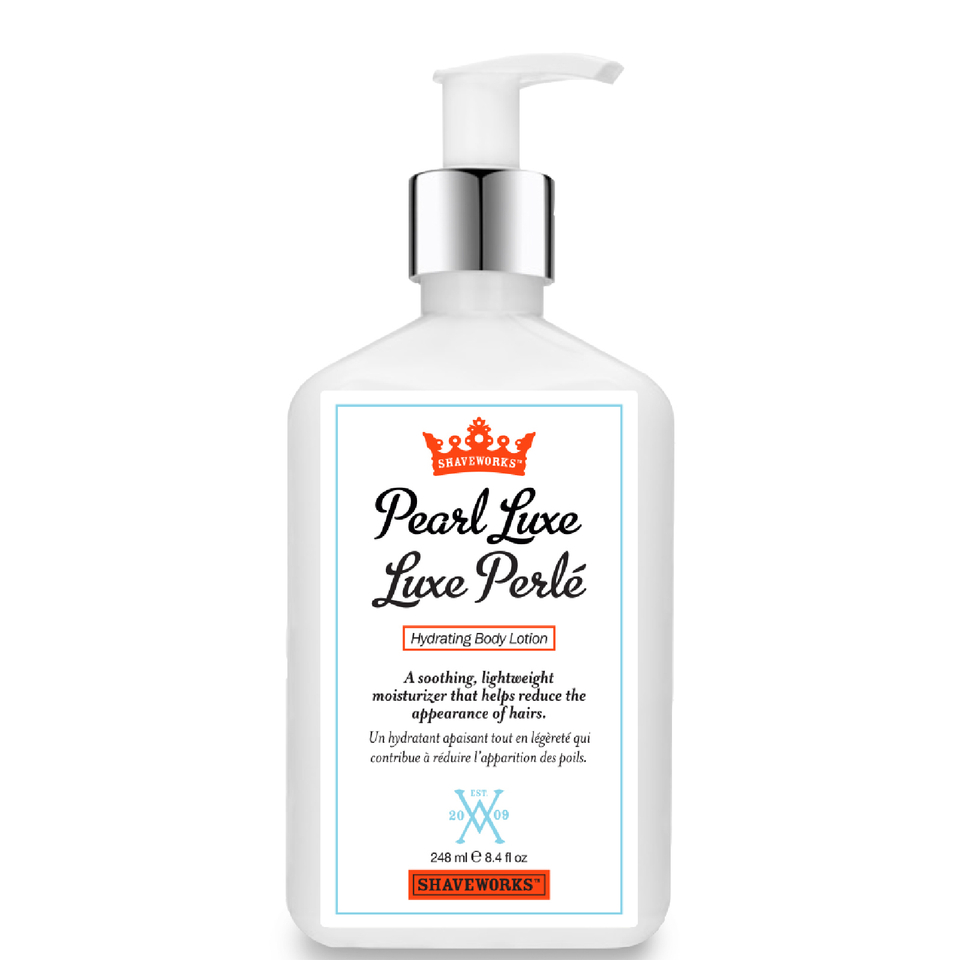 Luxe Beauty Luxe Lotion: Shaveworks Pearl Luxe Hydrating Body Lotion