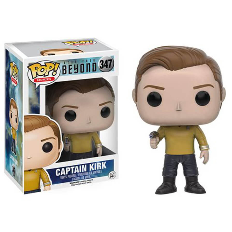 Star Trek Beyond Captain Kirk Pop! Vinyl Figure