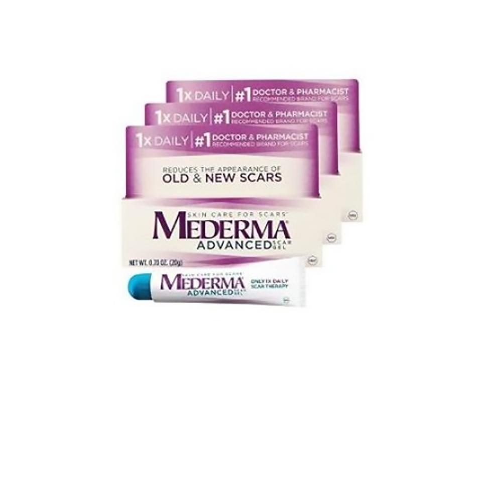 Mederma Advanced Scar Gel 3 Pack Skinstore