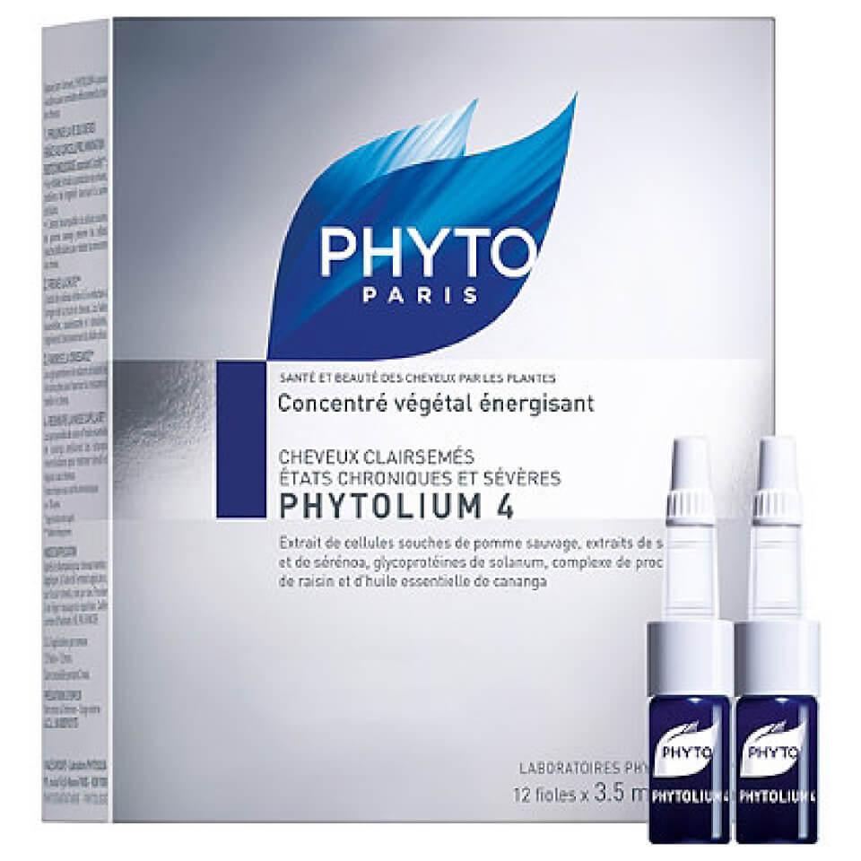 Phyto Phytolium 4 Chronic Thinning Hair Treatment 12x0118 Fl Oz