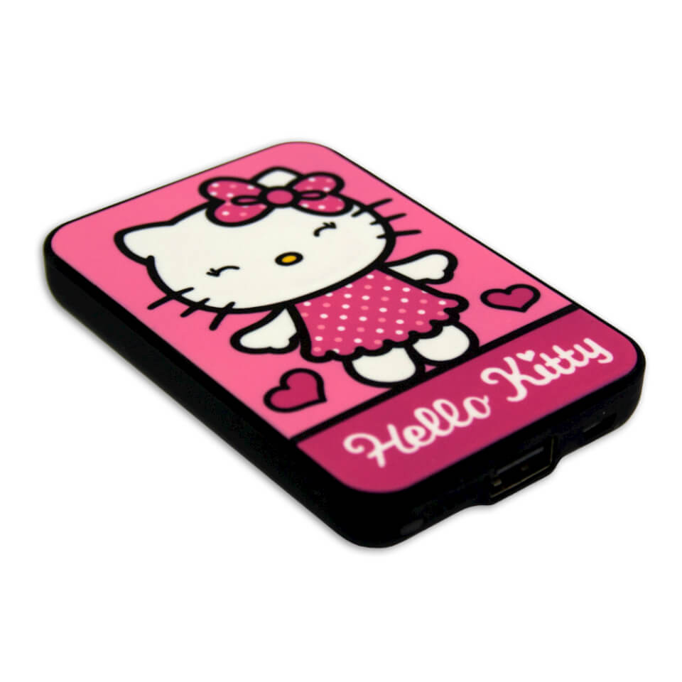 Hello Kitty Credit Card Sized Power Bank (5000mAh)