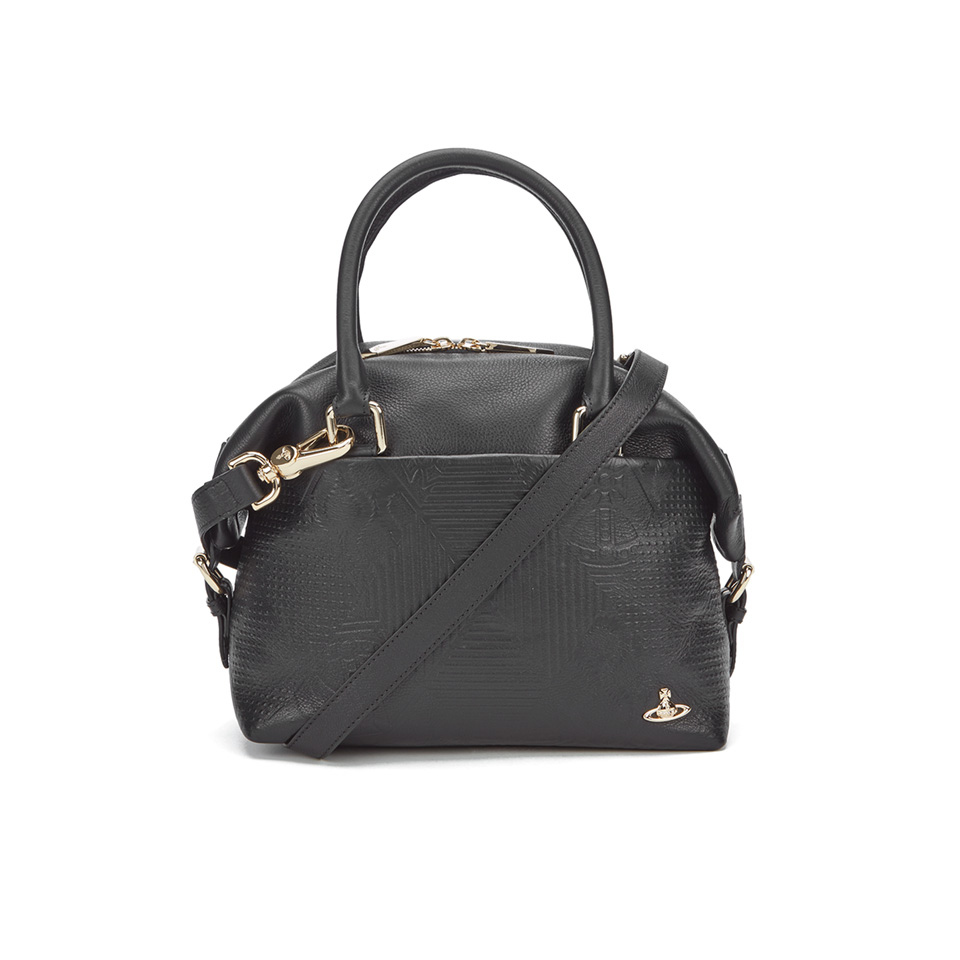 7006cffffb8 Vivienne Westwood Women's Hogarth Small Tote Bag - Black - Free UK Delivery  over £50