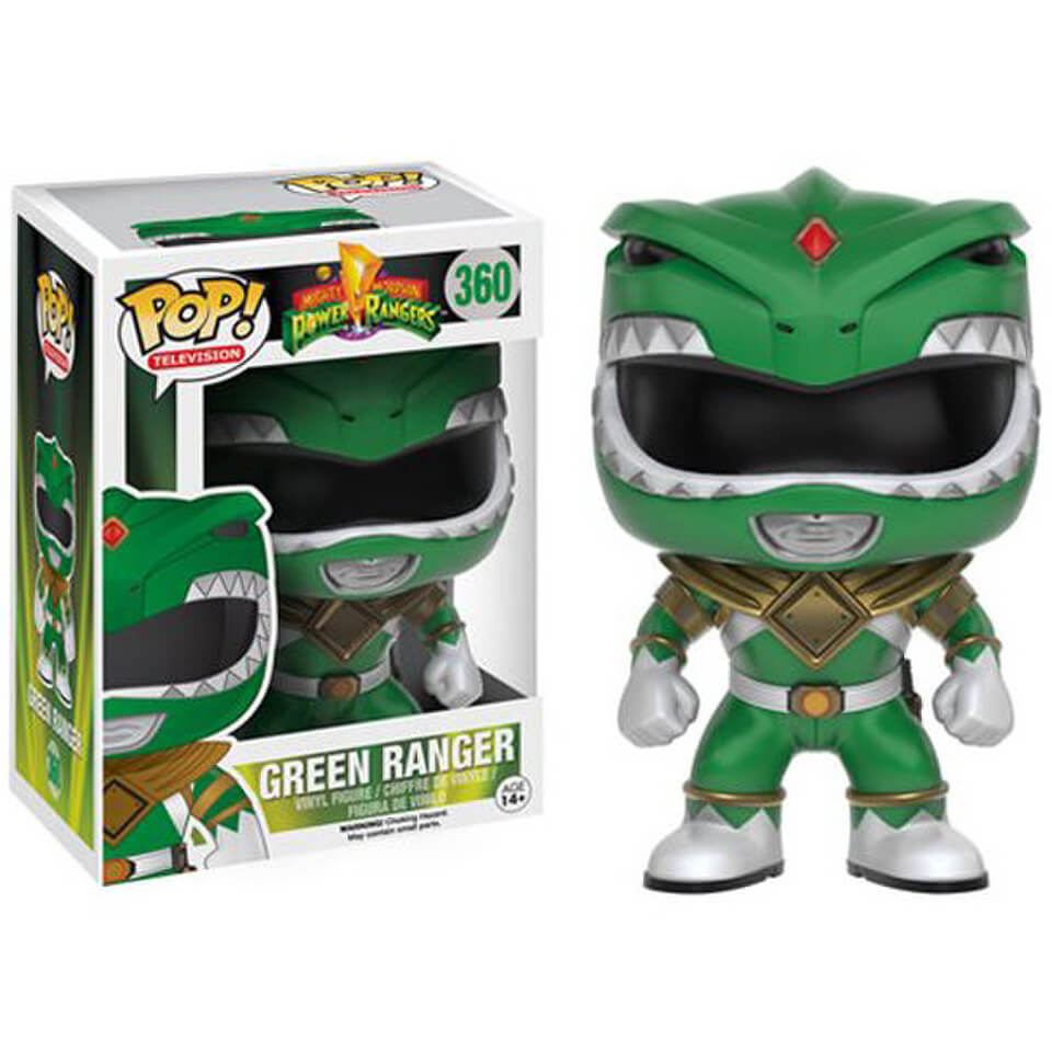 Figurine Funko Pop! Power Rangers : Mighty Morphin Ranger Vert