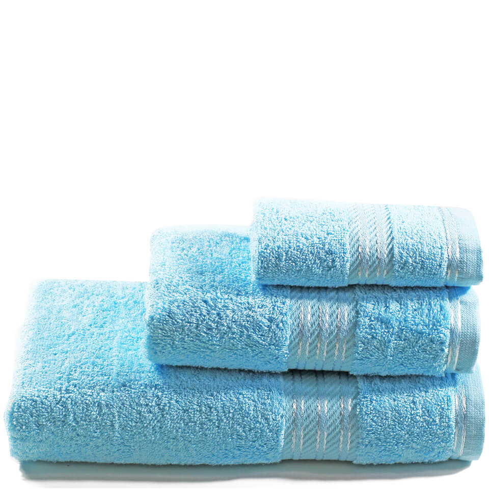 Restmor 100% Egyptian Cotton 3 Piece Towel Bale (500GSM) - Aqua