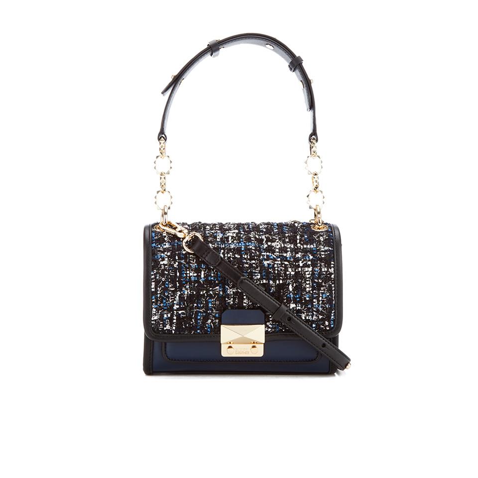 40d0b4a168c4 Karl Lagerfeld Women s K Kuilted Tweed Mini Handbag - Midnight Blue ...