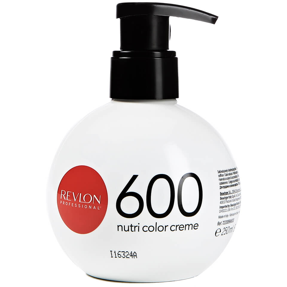 Revlon Professional Nutri Color Creme 600 Fire Red 270 Ml Gratis
