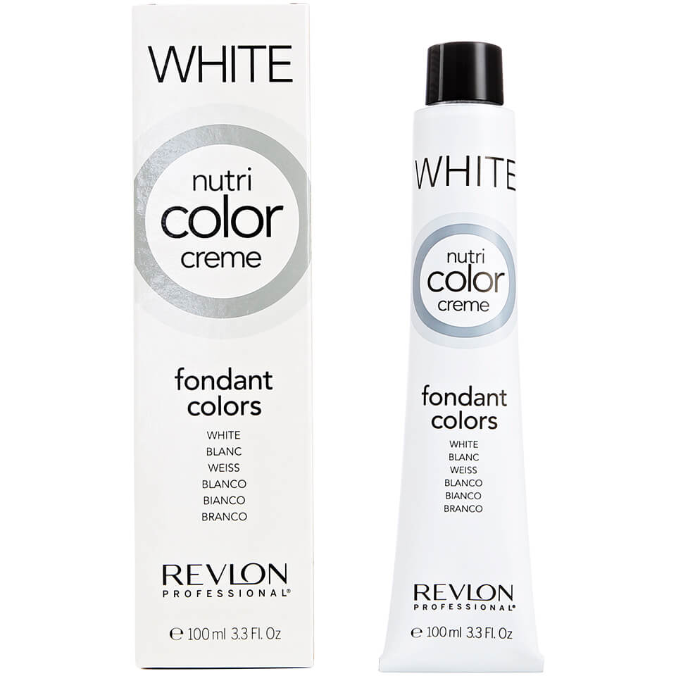 Revlon Professional Nutri Color Creme 000 White 100ml Free