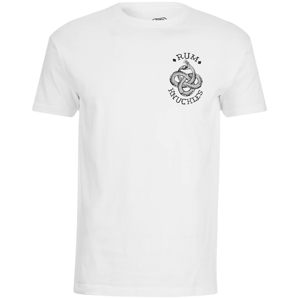 Camiseta Rum Knuckles Eternal Snake - Hombre - Blanco Merchandise ... 9fb4d14ef1d13