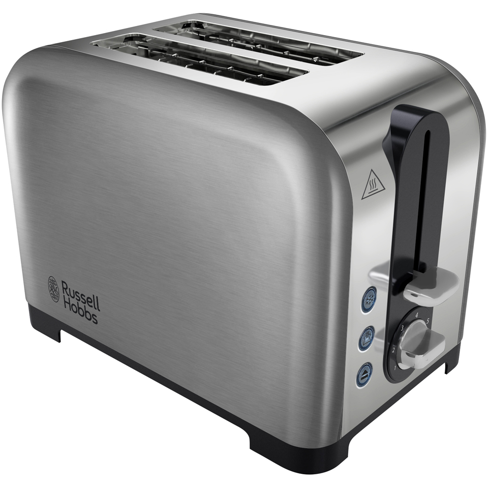 russell hobbs 22390 canterbury 2 slice toaster stainless steel iwoot. Black Bedroom Furniture Sets. Home Design Ideas