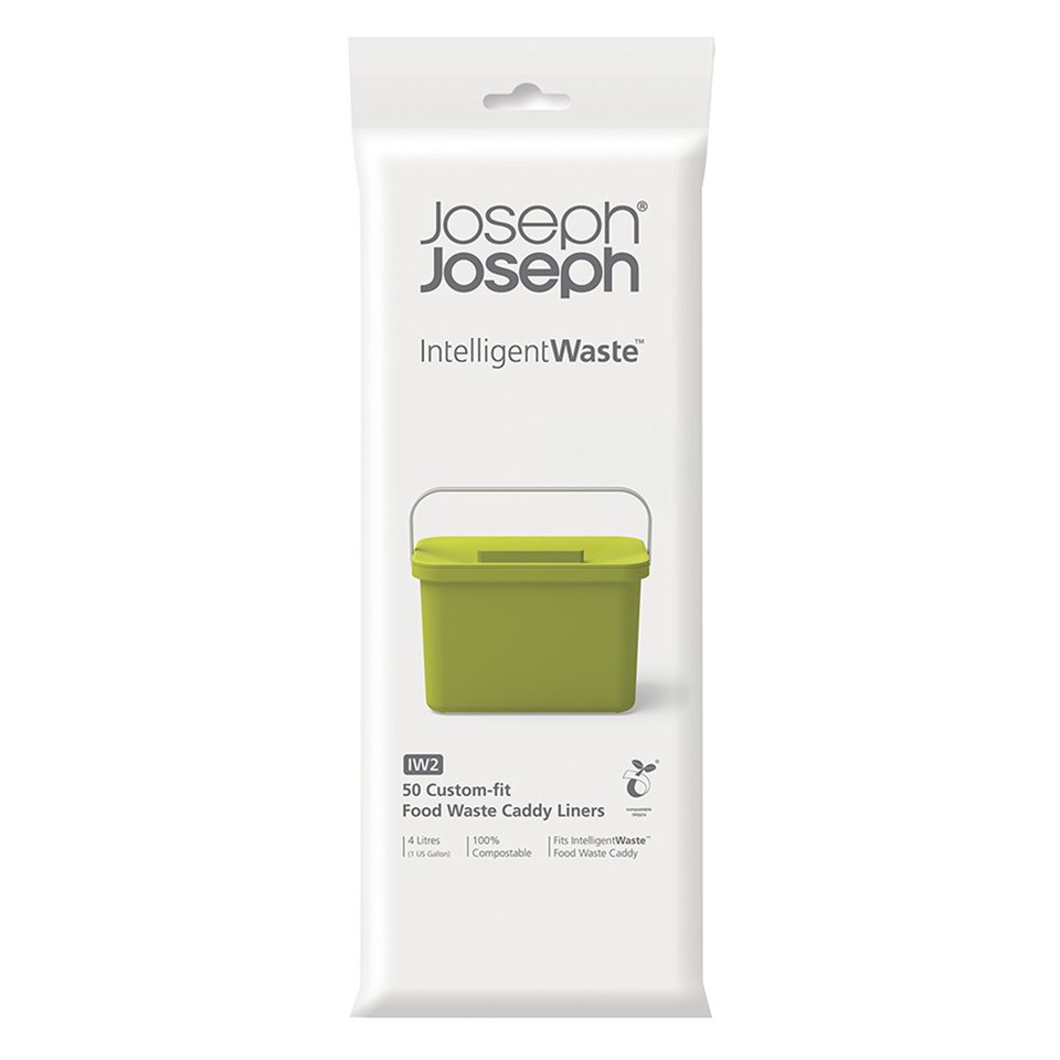 Joseph Joseph IW2 4 Litre Food Waste Caddy Liners (50 Pack)