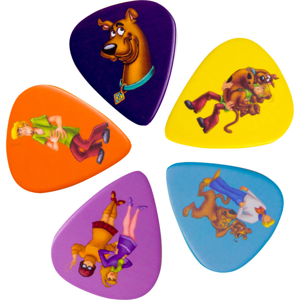 Scooby-Doo! Scooby and the Gang Guitar Plectrums (Set of 5)